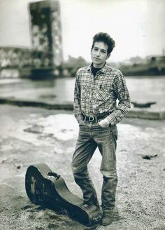 Nov. 4, 1963 .. Bob Dylan, Hanging Out At 132nd Street And FDR Drive, In East Harlem. Photograph Taken By Richard Avedon