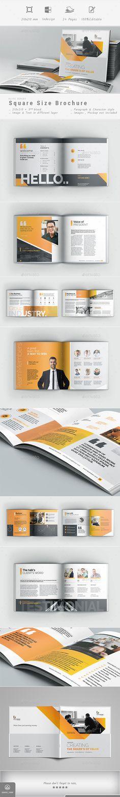 Brochure Brochure Indesign, Template Brochure, Brochure Layout, Corporate Brochure, Business Brochure, Corporate Design, Product Brochure, Portfolio Design, Magazine Examples