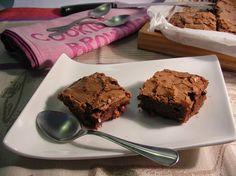 Nuvola Glacé: Brownie de chocolate con nueces