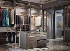 14 Walk In Closet Designs For Luxury Homes Small Bedroom Wardrobe, Wardrobe Dresser, Wardrobe Room, Master Bedroom Closet, Walk In Wardrobe, Walk In Closet Design, Wardrobe Design, Closet Designs, Walking Closet
