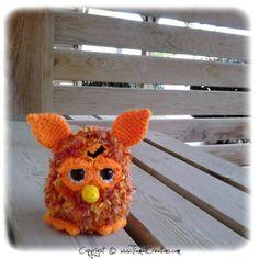 Crochet: Furby au crochet (BONUS Tuto-vidéo ajouté: pieds)