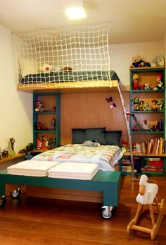 quartos-de-criancas Bunk Beds, Room Inspiration, Baby Room, Wood Projects, Bedroom, Furniture, Home Decor, Teen, Football