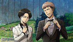 Levi and Jean  Attack On Titan  進撃の巨人  shingeki no kyoji
