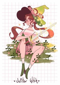Sailor Jupiter as a Witch Sailor Jupiter, Sailor Venus, Sailor Moon Crystal, Sailor Moon Fan Art, Manga Comics, Geeks, Moon Witch, Sailor Mercury, Witch Art