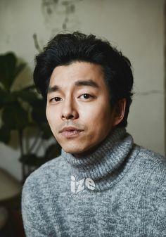 Gong Yoo - ize Magazine December Issue '13
