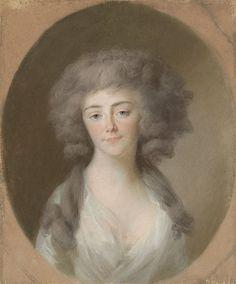 Louisa Isabella Alexandrina Augusta von Kirchberg (1772-1827). Echtgenote van Frederik Willem, vorst van Nassau-Weilburg, en schoonzuster van Augusta Maria Carolina van Nassau-Weilburg Rijksmuseum SK-A-416