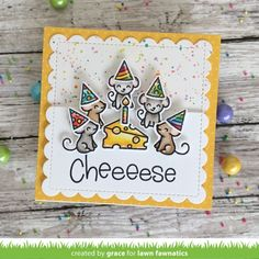 Lawn Fawnatics Challenge 57 – Little Things Paper Crafts Magazine, Lawn Fawn Stamps, Heartfelt Creations, American Crafts, Crafty Projects, Card Kit, Creative Cards, Cute Cards, Cardmaking