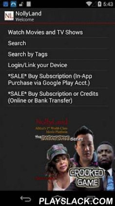 NollyLand - African Movies  Android App - playslack.com , NollyLand is Africa's first World-Class Movie Platform. Stream and Watch Instantly. Cast to your Chromecast equipped TV. Download Protected Movies for Offline viewing. It's your choice.Watch Quality, Legal, 100% Licensed Movies and TV Series. Enjoy Nigerian Movies, Nollywood Movies, Ghanaian Movies, and African movies with no ads. NollyLand provides you with cutting-edge features including adaptive video streaming to any screen…