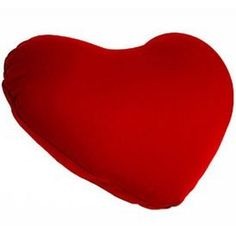 Heart Shaped Microbead Cushie Pillow -Red.  Original Price: $10.99  Buy New: $8.99  You Save: 18%  Deal by: SmartPillowShoppers.com