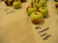 THE GREAT APPLE PATCH: miniature candy apples!