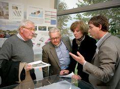 Plannen van Amvest voor Kustzone in Almere Poort. Amvest is uiteindelijk gekozen tot ontwikkelaar van de kustzone. Amvest gaat het gebied ontwikkelen onder de naam Duin © Gert Jan van Rooij