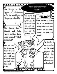 I, Amber Brown Novel Study Packet by Esther's Books World | TpT Story Elements Activities, Plot Activities, Character Traits Activities, Vocabulary Activities, Nims Island, Cause And Effect Activities, Context Clues, Teaching Language Arts, Author Studies