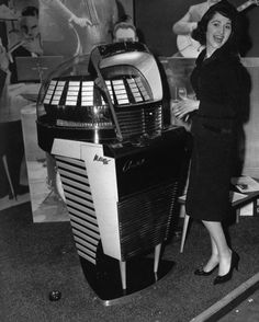 Vintage Crazy Jukebox.
