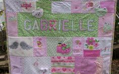 Gabrielle's Baby Clothes Quilt | Quilt Keepsake