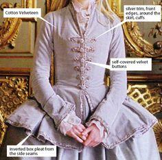 American Duchess:Historical Costuming: V313: 1740s Riding Habit Set-Backs   Historical Costuming and sewing of Rococo 18th century clothing, 16th century through 20th century, by designer Lauren Reeser