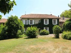 House for sale in ANSAC SUR VIENNE - Charente - A pretty 7 bed family home currently run as a successful village B&B with swimming pool France REF: Property Prices, Property For Sale, Houses For Sale France, Selling A Business, Stone Barns, French Property, Double Room, Home Again, House Beds