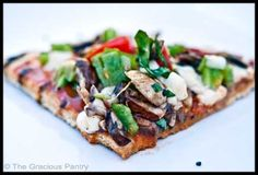 Clean Eating BBQ Pizza (Click Pic for Recipe) I completely swear by CLEAN eating!!  To INSANITY and back....  One Girls Journey to Fitness, Health, & Self Discovery.... http://mmorris.webs.com/