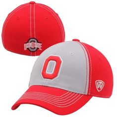 online store 77d44 1832e Top of the World Ohio State Buckeyes Jockey Flex Hat - Scarlet Gray