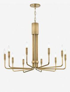 Chandelier Lighting Fixtures, Brass Chandelier, Ceiling Light Fixtures, Modern Chandelier, Modern Lighting, Lighting Ideas, Kitchen Ceiling Lights, Ceiling Lamp, Traditional Lighting