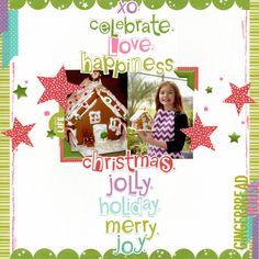 gingerbread house (bella blvd)    happyGRL - Scrapbook.com