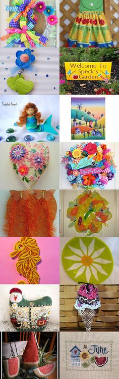 SUMMERTIME by Maryann on Etsy--Pinned with TreasuryPin.com