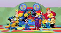 Disney Mickey Mouse Clubhouse, Mickey And Friends, Disney Characters, Fictional Characters, Make It Yourself, Friends, Fantasy Characters, Disney Face Characters