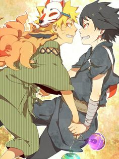 Naruto and Sasuke, my guilty pleasure for pairings in Naruto