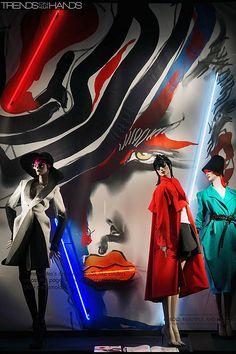 "Bergdorf Goodman celebrates the pubblication of: ""Bold, Beautiful and Damned"". The world of 1980's fashion illustrator TONY VIRAMONTES"