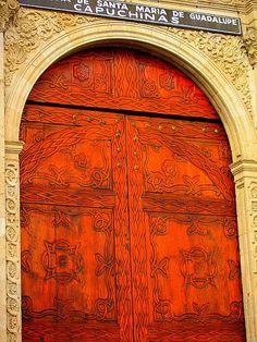 Doors of Mexico City by littlebrownbird, via Flickr