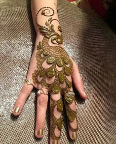 creative hands mehndi design ideas