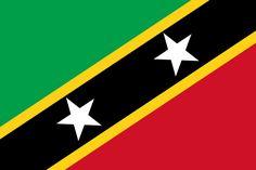 Flag of Saint Kitts and Nevis - Bandeiras da América do Norte – Wikipédia, a enciclopédia livre