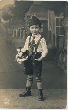 Lederhosen. 1920s