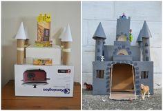 Divertido+castillo+de+cartón+para+niños