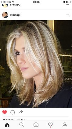 Top 25 Sizzling Medium Blonde Hairstyles 2019 To change this year . - Haar Frisuren - Top 25 Sizzling Medium Blonde Hairstyles 2019 To change this year . Round Face Haircuts, Hairstyles For Round Faces, Layered Haircuts For Medium Hair Round Face, Hairstyles For Fine Thin Hair, Hairstyles For Fine Hair, Medium Fine Hair, Medium Length Hair Cuts With Layers, Medium Cut, Pretty Hairstyles
