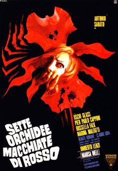 308. Seven Blood-Stained Orchids (1972) #6 in the 31 Horror Films I Haven't Seen Month.