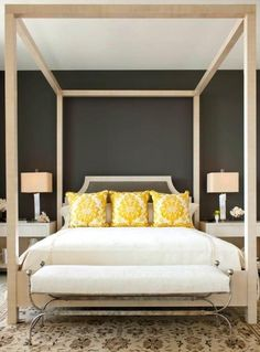 Warm and nurturing. J. Waddell Interiors: Style Booster - Bedroom bliss starts with color