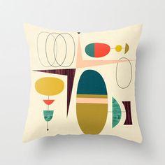 Ninja Cookies I pillow by Jenn Ski. http://design-milk.com/fresh-dairy-shape-pillows/