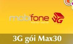 Khi các gói cước 3G trọn gói đã hết dung lượng miễn phí tốc độ cao, Mobifone khuyên các bạn nênđăng ký gói cước Max10, Max30 để tiếp tục sử dụng gói dung lượng truy cập mạng tốc độ cao như ban đầu.