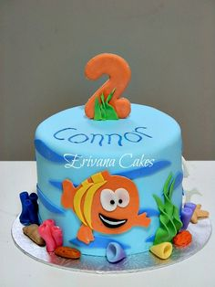 for Gabe's 3rd birthday? thinking a bubble guppie themed bday party at the splash down? makes sense.