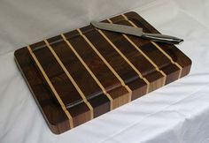 SALE Cutting Board End-grain Walnut with by TumbleweedWoodworks