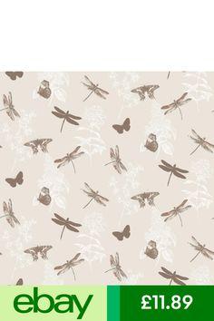 Arthouse Enchanted Wings Copper Brown Beige Glitter Wallpaper 664901