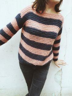 DIY Pull - les petites robes noires Tricot Tutoriel, Tutos Tricot, Tricot  Facile, 407f50ff513