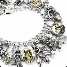 Sirens of the Sea, Mermaid Charm Bracelet