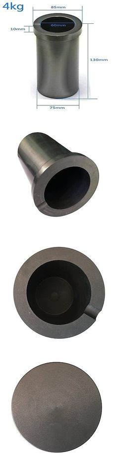 Casting Tools 179254: Graphite Crucible 1 / 2 / 3 / 4Kg Metal Melting Gold Silver Scrap Casting Mou... BUY IT NOW ONLY: $33.81