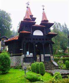 Wooden church in Sovata, Romania