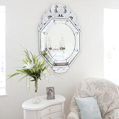 Image of Venetian Style Oval Mirror