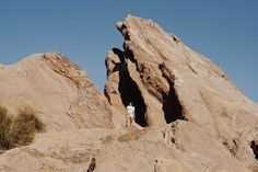 Vasquez Rocks. Where they filmed Star Trek and Planet of the Apes