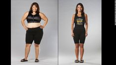 'The Biggest Losers': Before and after