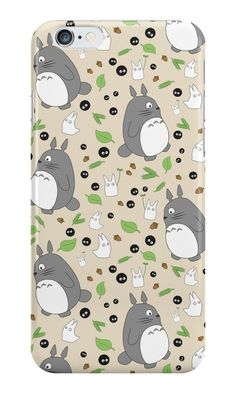 My Neighbour Totoro Pattern - Colour! by conniekidd