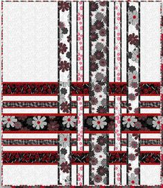 """= free pattern = Cherry Pop quilt, 63 x 73"""", by Amy Shaw for Wilmington Prints"""
